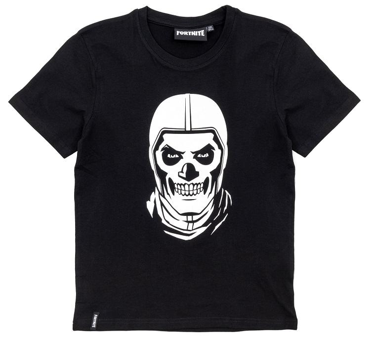 Fortnite T-Shirt SkullTrooper schwarz Größe 176