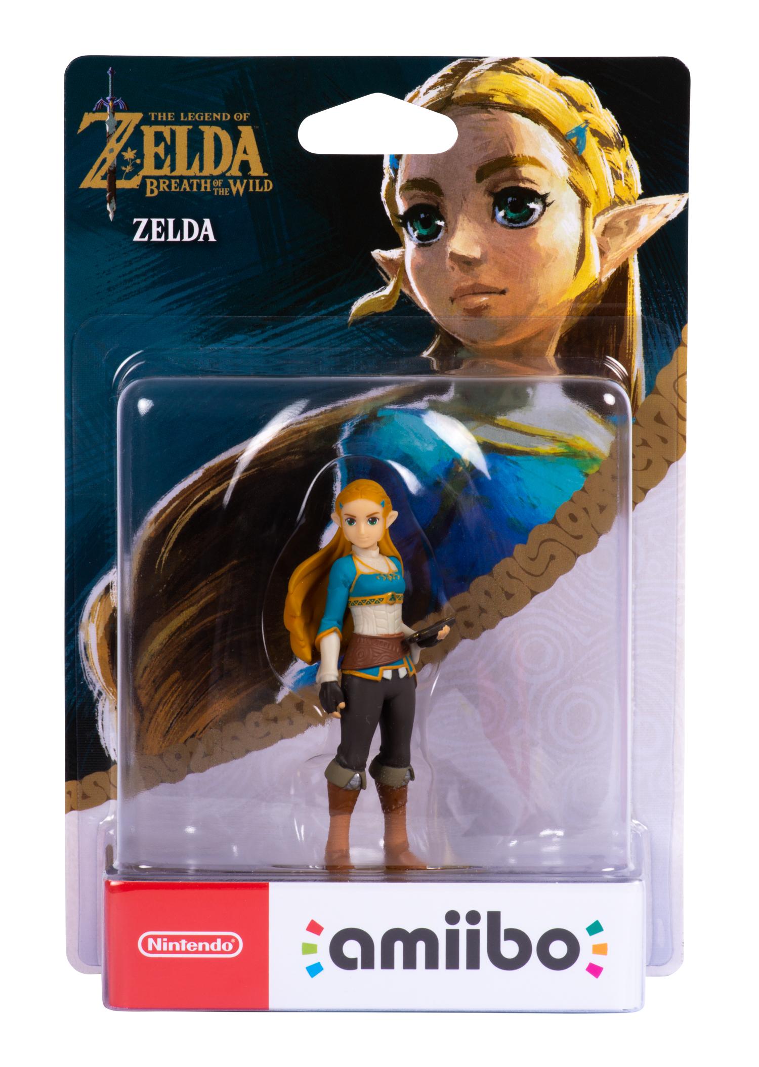 amiibo - The Legend of Zelda: Breath of the Wild - Zelda