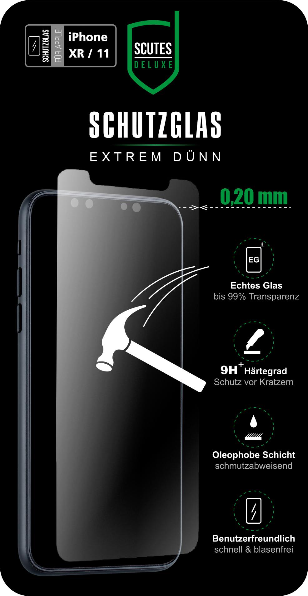 Schutzglas (iPhone 11)