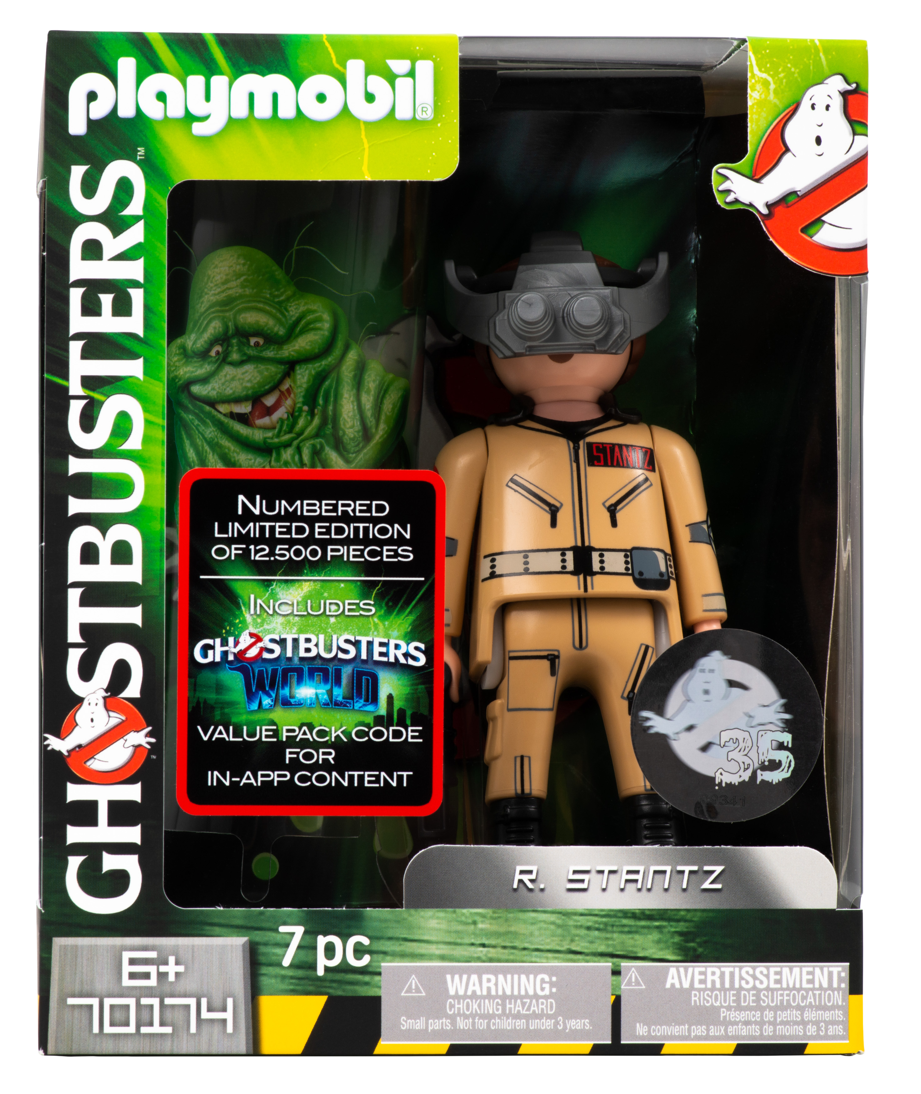 Playmobil Figur - Ghostbusters Ray Stantz