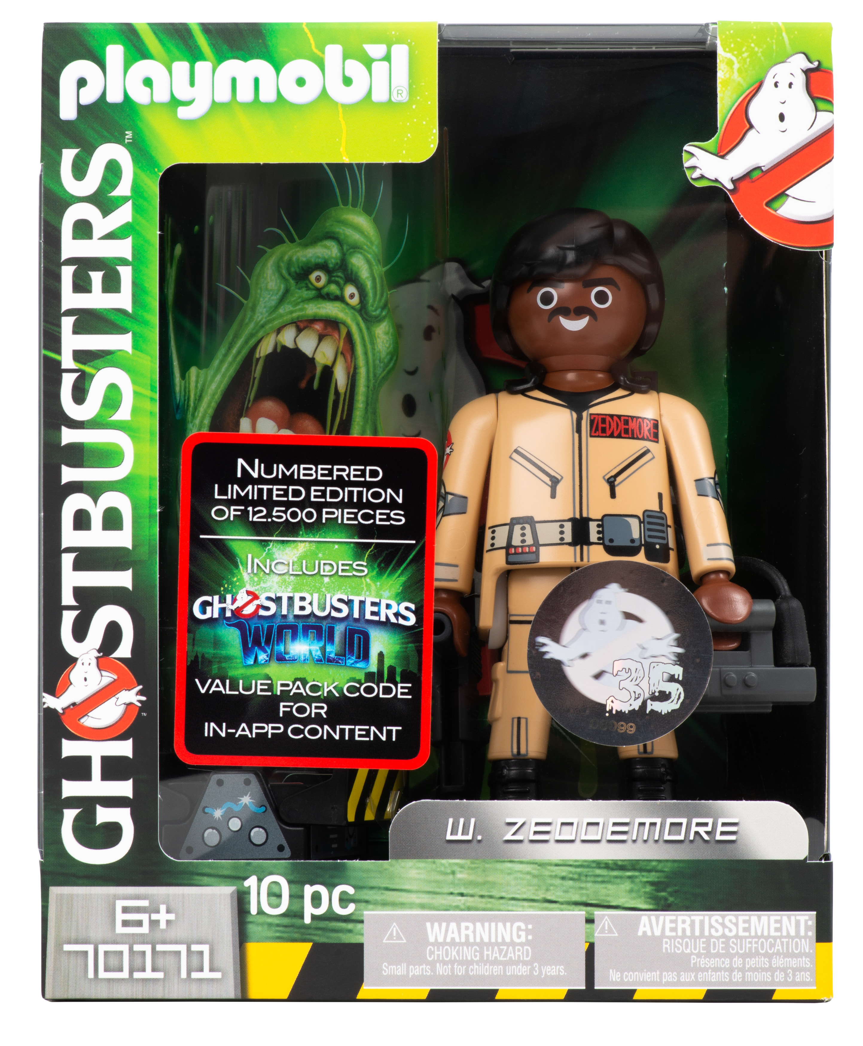 Playmobil Figur - Ghostbusters Winston Zeddemore