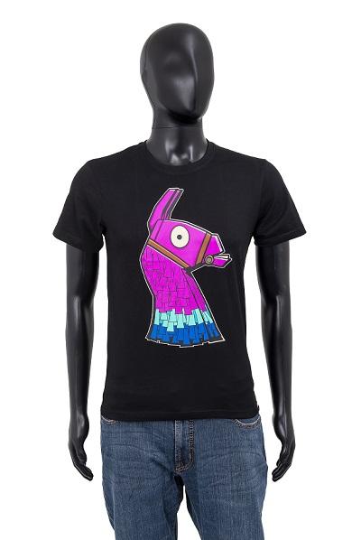 Fortnite T-Shirt Lama schwarz Größe 164