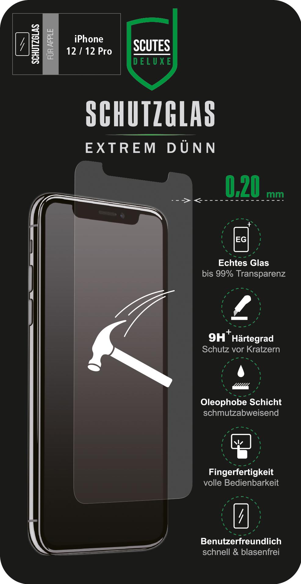 Schutzglas (iPhone 12/iPhone 12 Pro)