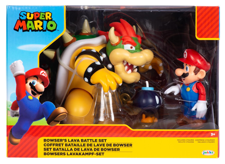 Super Mario - Bowser's Lava Battle Set