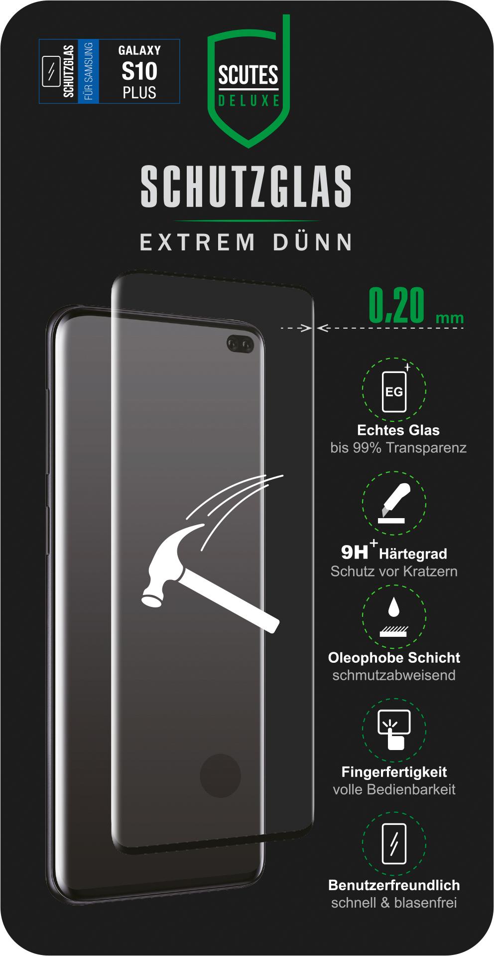 Fullscreen Schutzglas (Samsung Galaxy S10+)