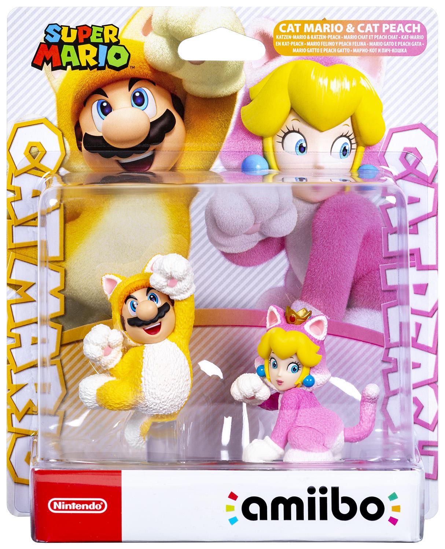 amiibo - Katzen Mario & Katzen Peach