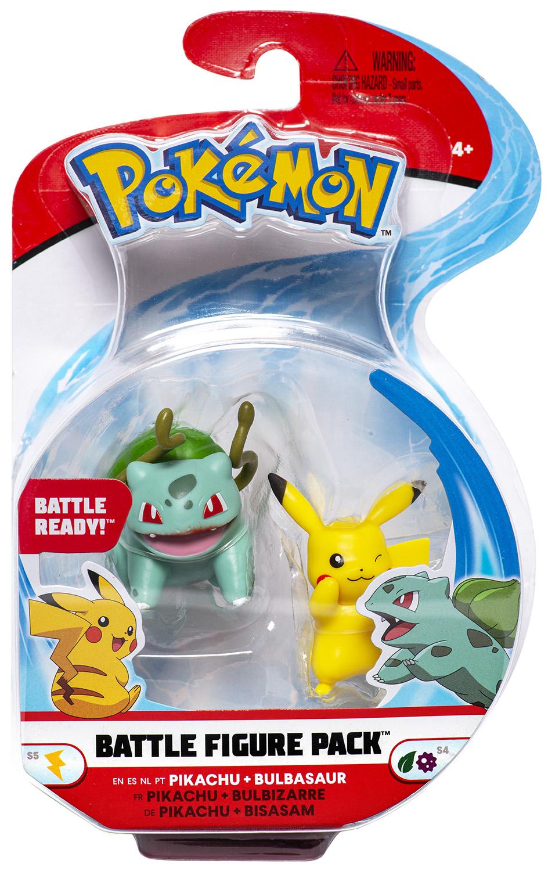 Pokémon - Battle Figure Pack - Bisasam & Pikachu