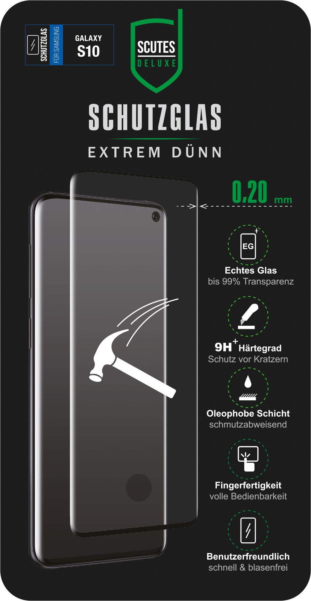 Fullscreen Schutzglas (Samsung Galaxy S10)
